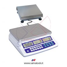 Counting scales with remote platform