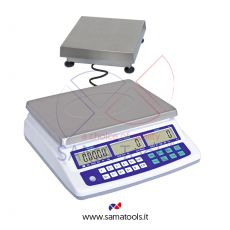 Counting scales with stainless steel remote platform