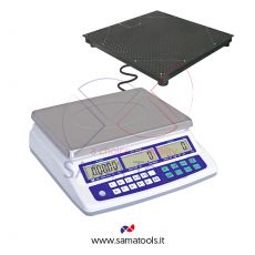 Counting scales with remote 4 cell platform