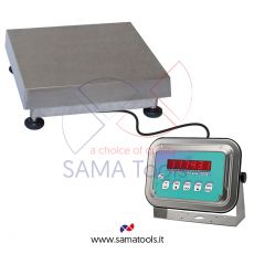 Stainless steel mono load cell scales