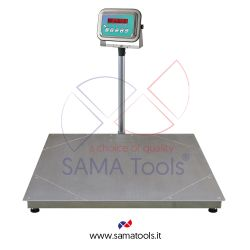 Stainless steel scales with four cell platform
