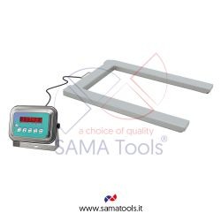 Stainless steel pallet scales