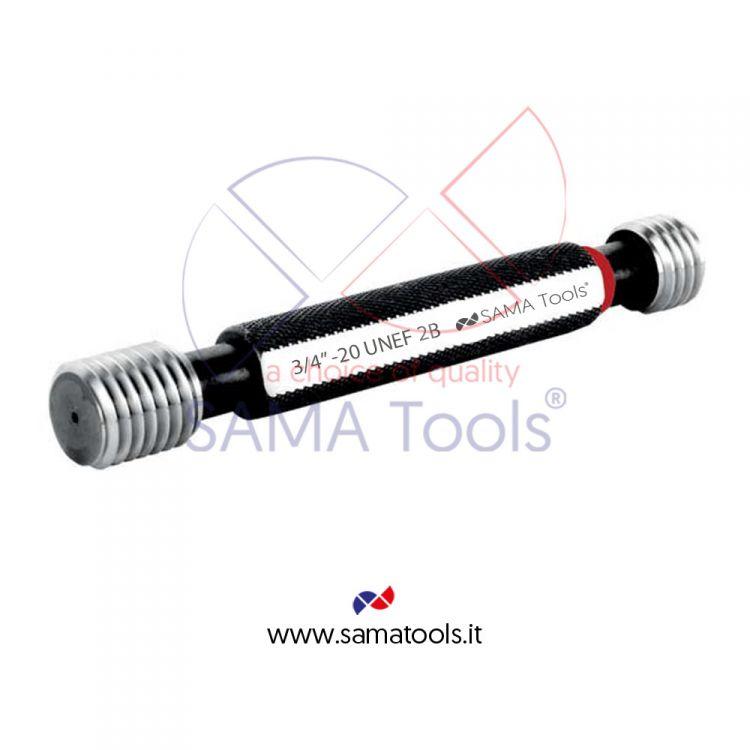 Thread plug gauge UNEF GO/NOGO