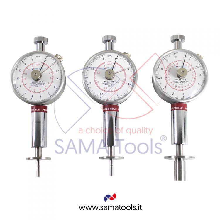 Fruit Hardness Testers - Measuring range 0.5-4kg/cm2