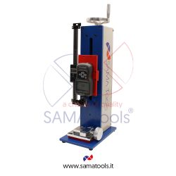 Vertical/horizontal manual force gauges test stand