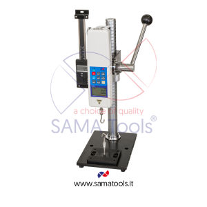 Lever vertical manual force gauges test stand