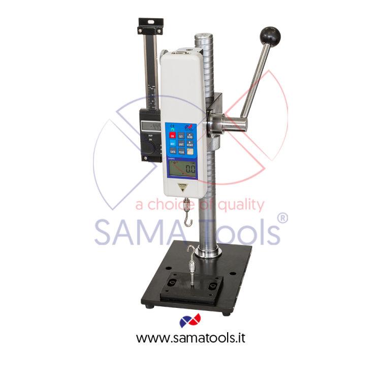 Stativo verticale manuale a leva  per dinamometri digitali