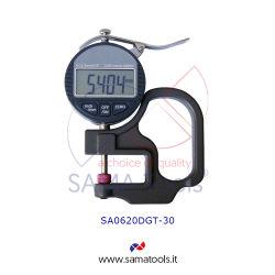 Digital dial thickness gauge