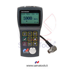 Through coating ultrasonic thickness gauges