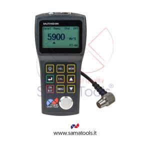 Misuratore Spessori Ultrasuoni Attraverso Vernici campo 0.8mm...300mm (a seconda della sonda) - ris. 0,01 mm