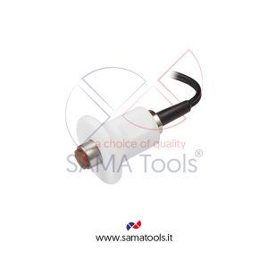 Sonda tipo HT5 Diam 14mm per Alte Temperature per Misuratore Spessori Ultrasuoni SAUT160/150