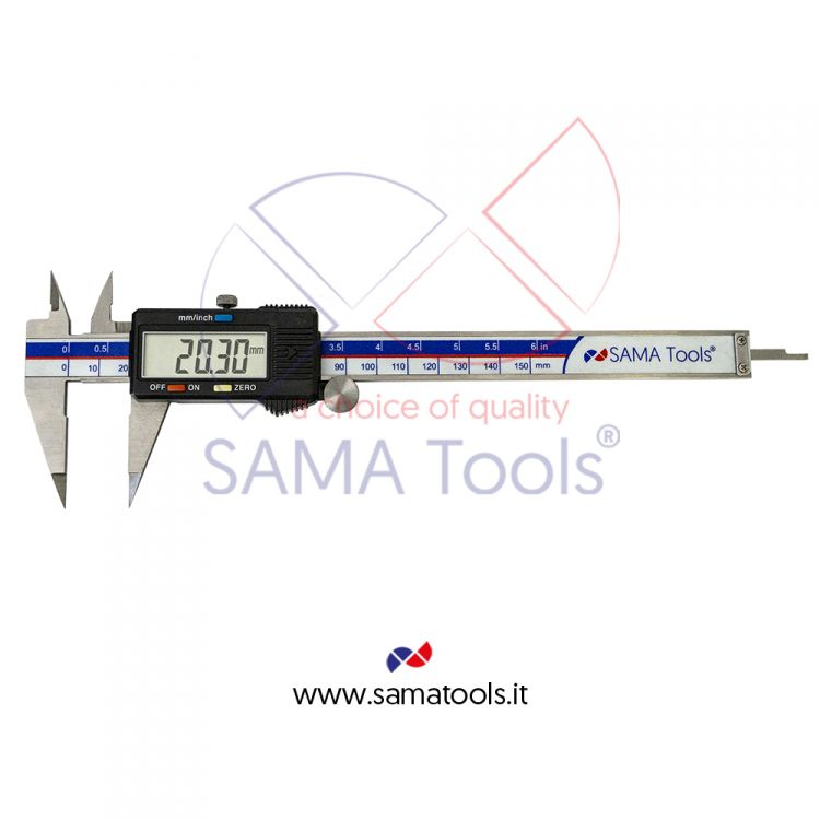 Pointed-jaw digital caliper - SA806