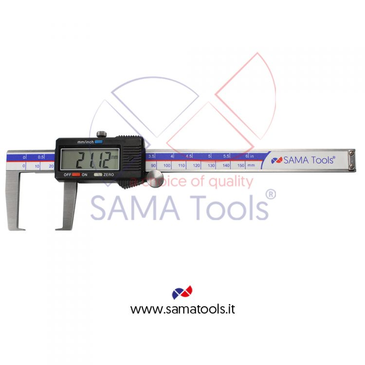 Digital outside groove caliper - SA291