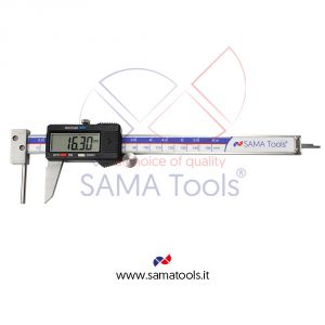 Digital tube thickness caliper