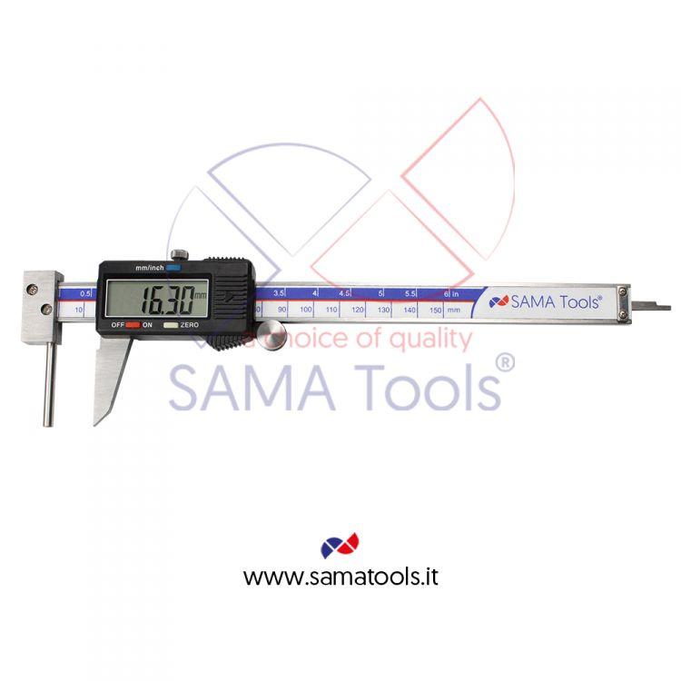 Calibro digitale 3 funzioni per la misura dello spessore dei tubi