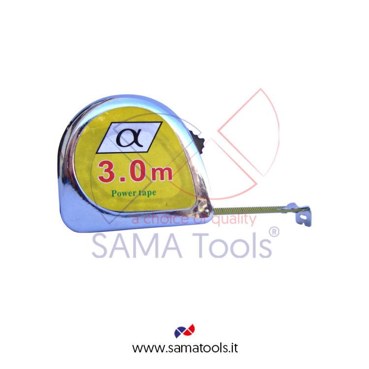 Flessometro cromato 3mtx16