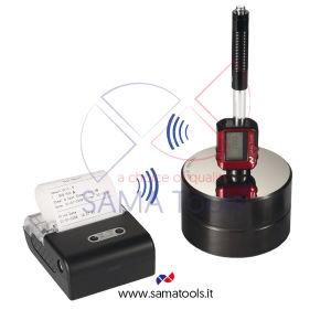 Durometro Digitale a Rimbalzo per Metalli, stampante blue tooth, Software, Sonda Integrata - Tipo D