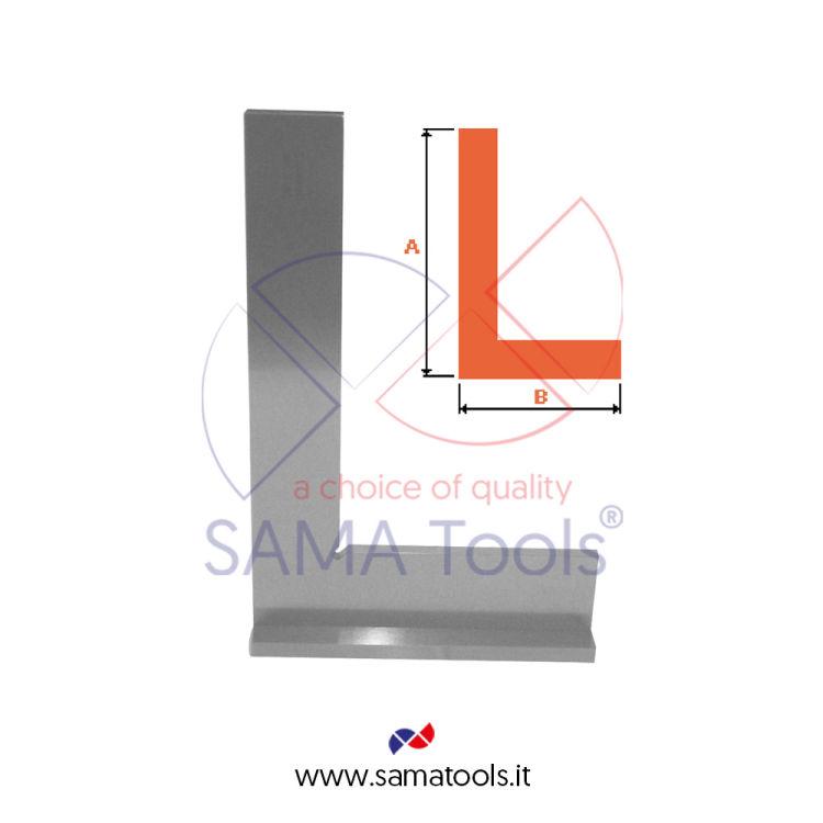 Back steel squares DIN875/II