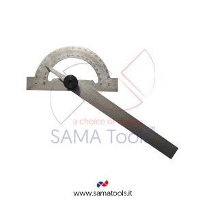 Goniometro semplice in acciaio - Arco/Asta 80/120mm